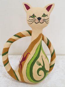 חתול מצוייר - גלית אייל